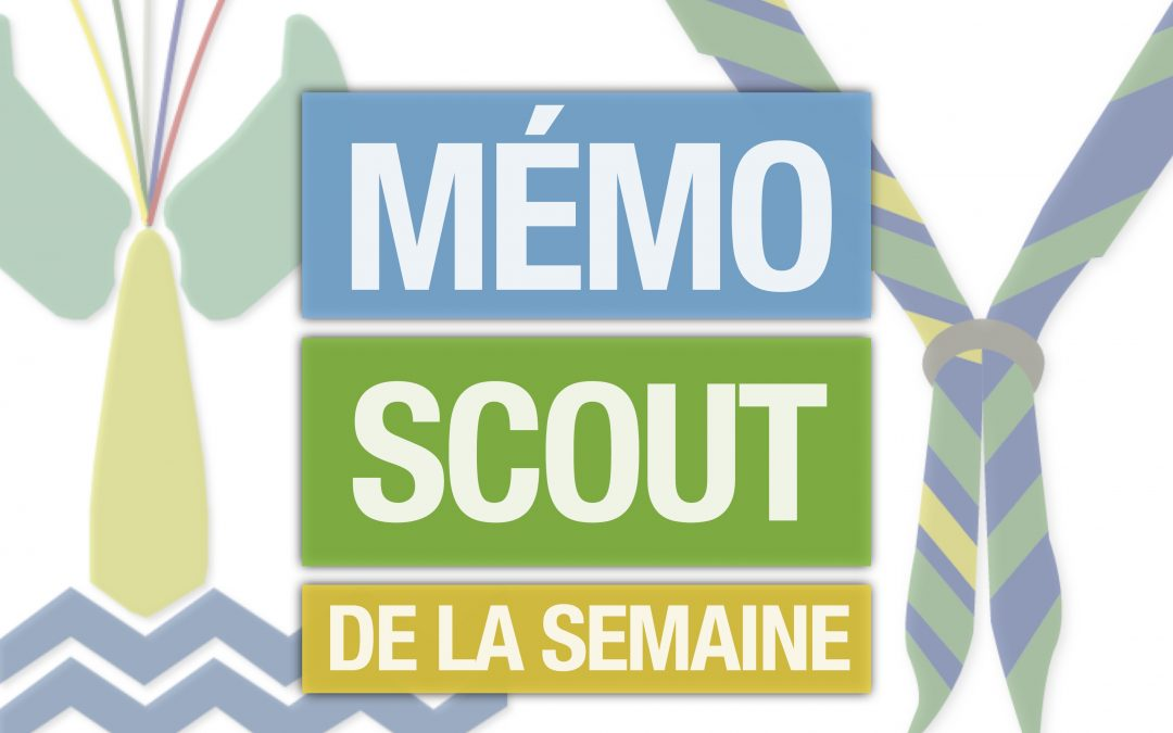 Annulation des activités scoutes en personne jusqu'au 31 août 2020