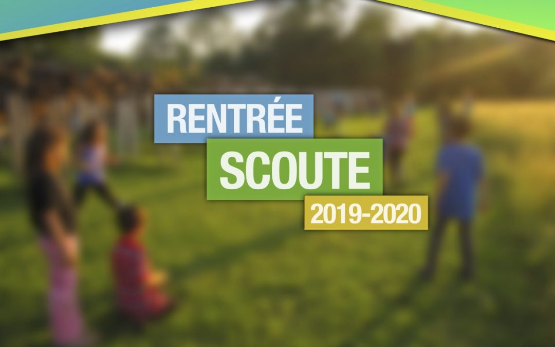 Kiosque d'informations officiel – Rentrée scoute 2019-2020